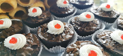brownies one bite krim kek