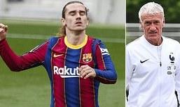 Griezmann's France future not in doubt: Deschamps speaks on player Barca poor form