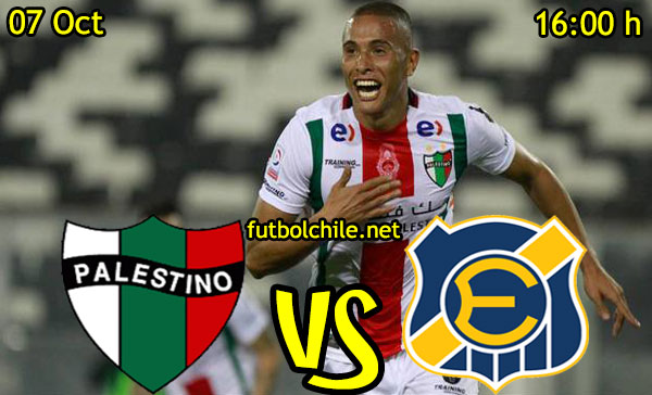 Ver stream hd youtube facebook movil android ios iphone table ipad windows mac linux resultado en vivo, online:  Palestino vs Everton