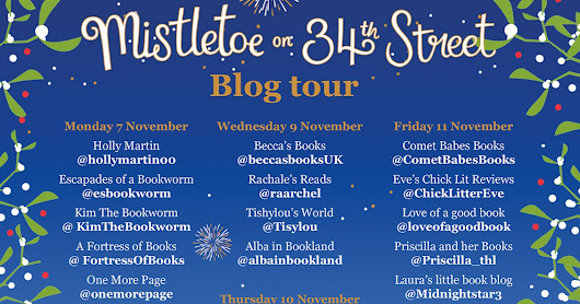 Blog Tour & Review - Mistletoe on 34th Street by Lisa Dickenson
