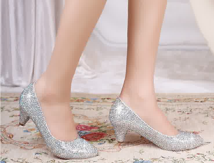 Inexpensive White Flat Wedding Shoes