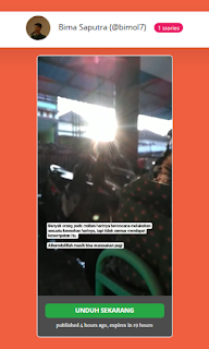cara download story instagram 2019 gratis