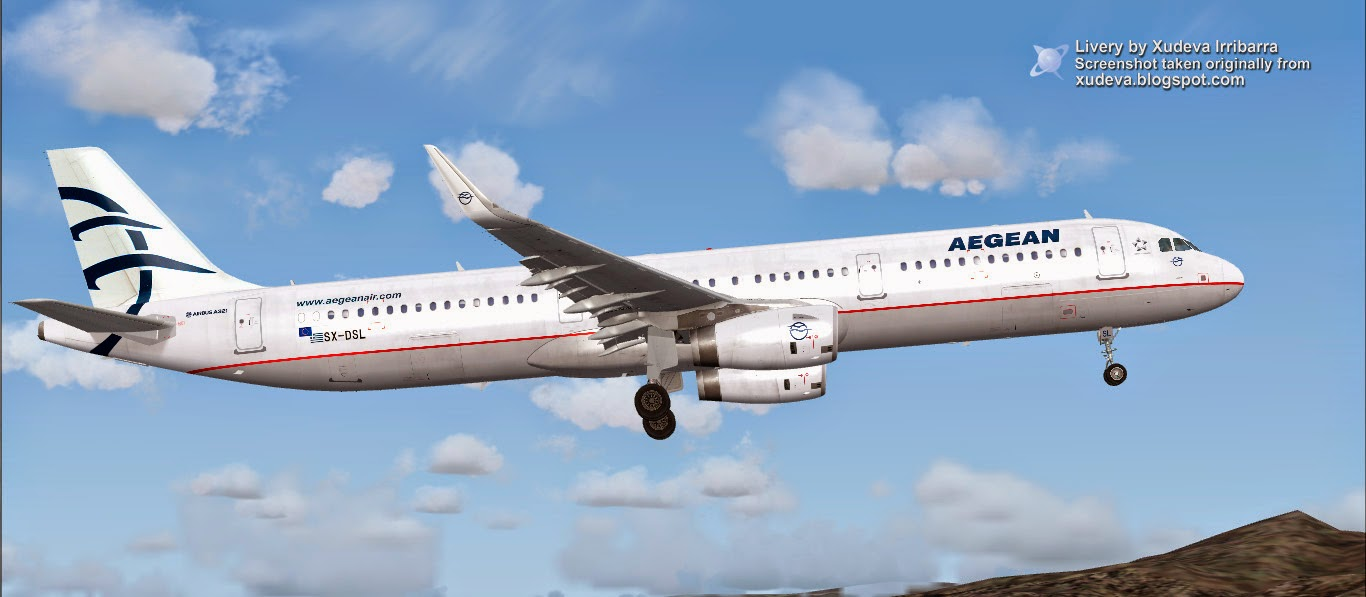 A320 Sharklets Aegean Airlines - Project Airbus – Talk