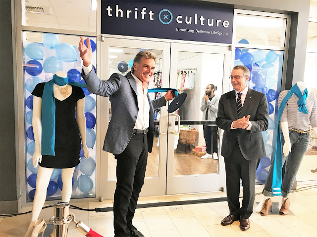grand opening of thrift culture in Bellevue WA