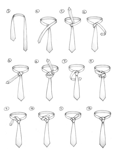 How to Tie A Tie : A PINK KNOT