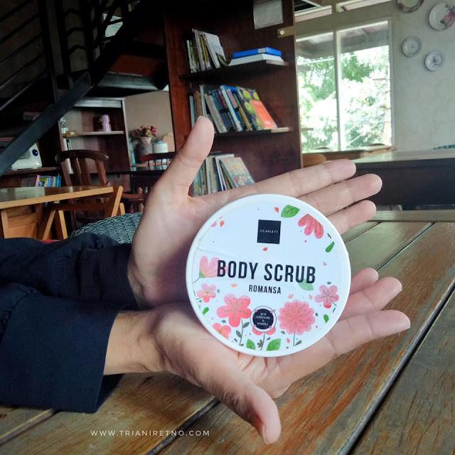 scarlett body scrub