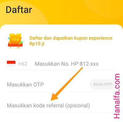 Cara Memasukkan Kode Undangan Referral Neo+ Plus Aplikasi Penghasil Uang Berhasil Dapat Rp20 Ribu Masuk Saldo Dana ShopeePay