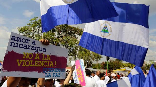 Nicaragüenses reclaman: No más violencia y sí más amor