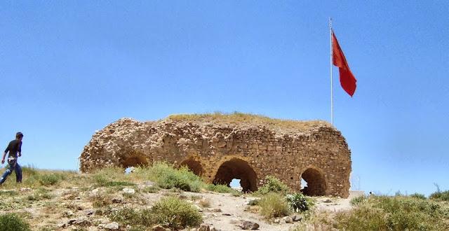 Harput kalesi - Artuklu sarayı kalıntısı - Elazığ