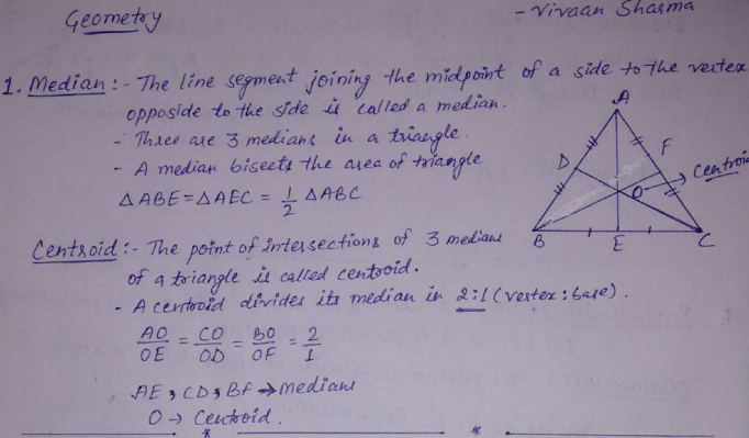 hand written notes advance maths for SSC CGL, CHSL