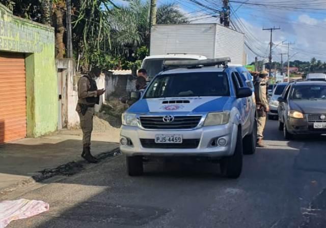 Homem é morto a tiros no bairro Tomba