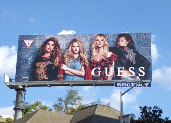 Guess FW17 billboard