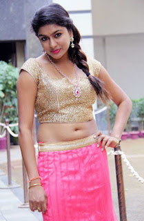 Akshatha Navel Show from Nanbargal Narpani Mandram Movie 10.jpg