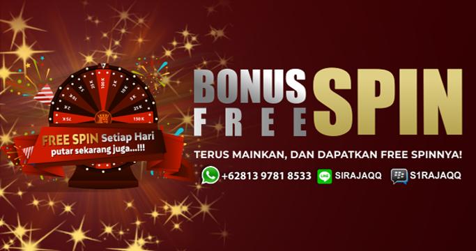 Free Spin Setiap Hari!