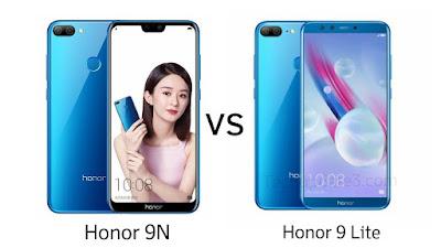 Honor 9N vs Honor 9 Lite