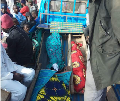 Photo: House fire claims lives of father, mother and their three children in Jos, Plateau State