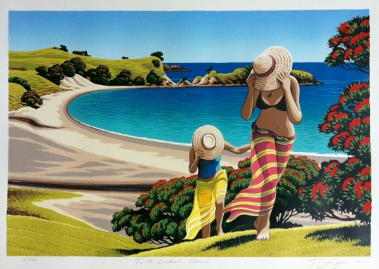 "Tony Ogle ""To the Lookout"" limited edition art print"
