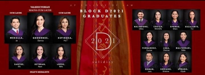 Danica Mae Godornes valedictorian