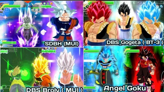 Dragon Ball Z Mod 1.5 Tenkaichi 3 For PPSSPP