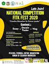 Lomba Desain Poster Nasional FITK Festival 2020 UIN Malang