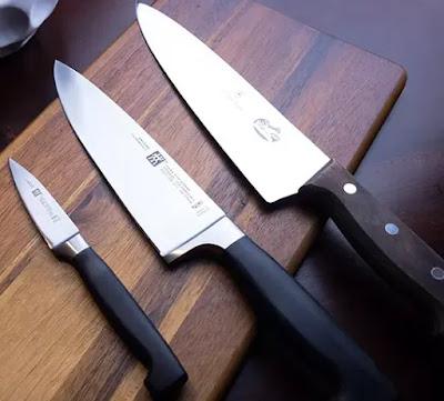 Couteau de cuisine en acier