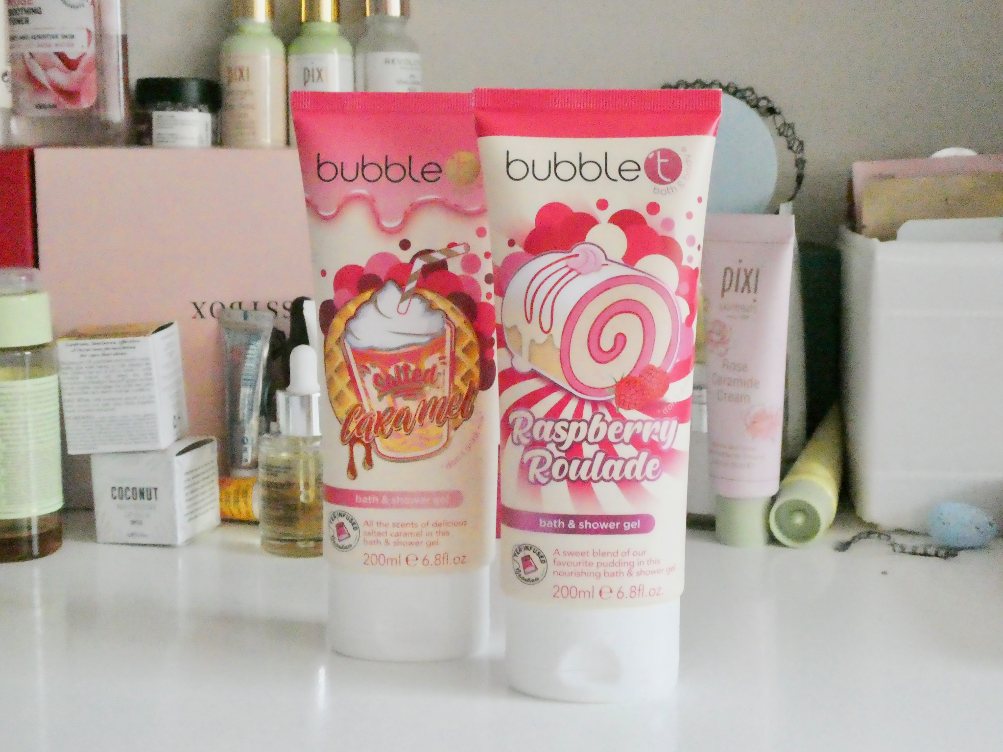 bubble t shower gel review