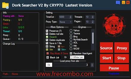 Dork Searcher V2 By CRYP70