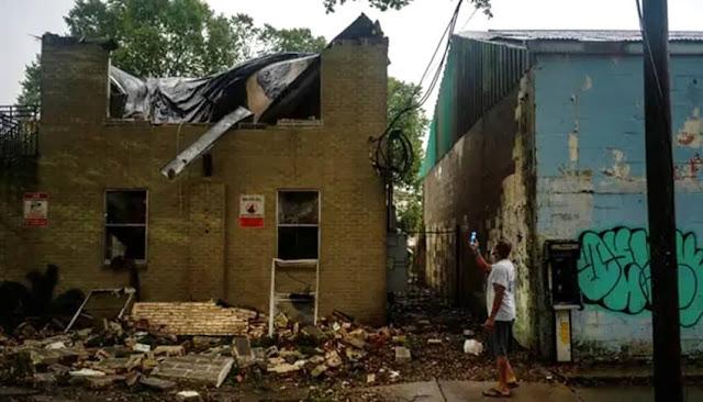 Huracán Zeta en Nueva Orleans, Luisiana