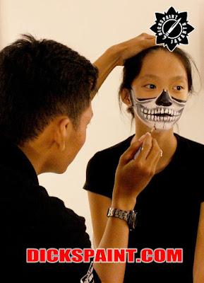 Face Painting Horror Anak Jakarta