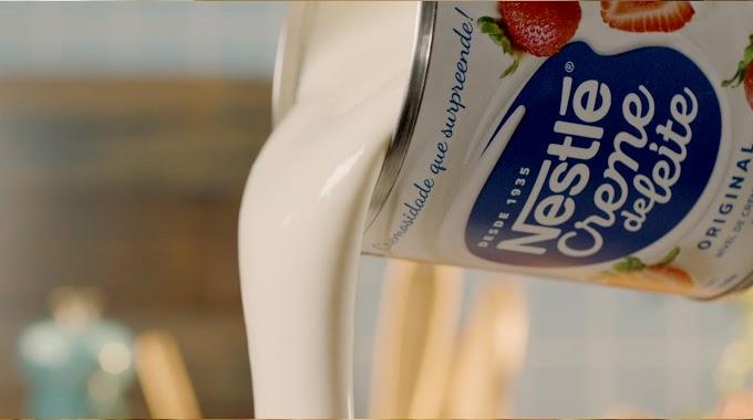 """Creme de Leite Nestlé volta à mídia e apresenta conceito """"Põe Cremosidade Nisso"""""""