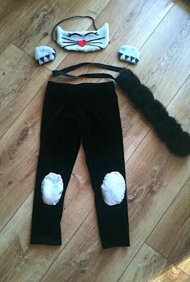 strój kota