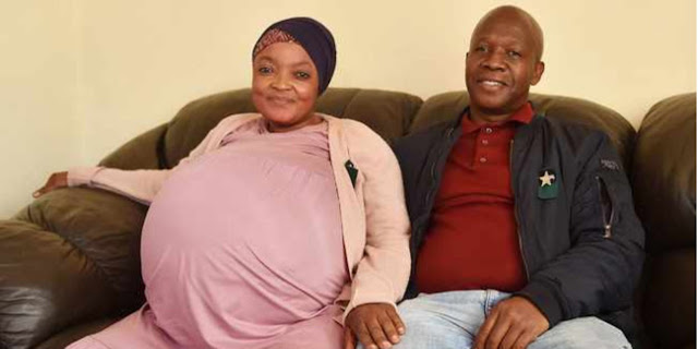 Тамара Ситоле стала мамой семи мальчиков и трех девочек, родив детей на восьмом месяце беременности