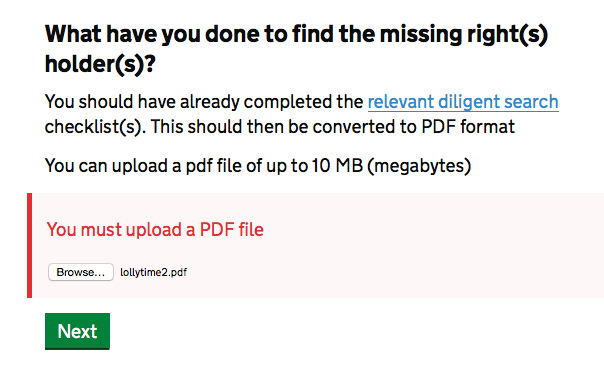 filling in pdf online cant save