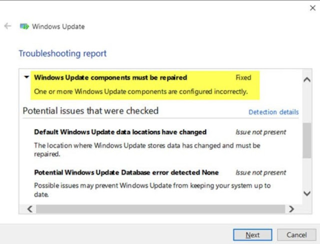 Fix: Windows Update Components must be Repaired