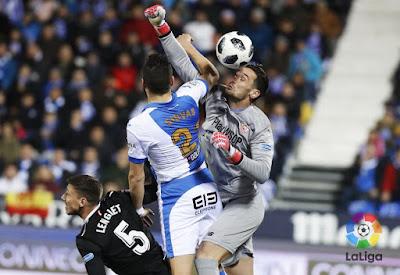 Crónica Leganés 1 - Sevilla FC 1