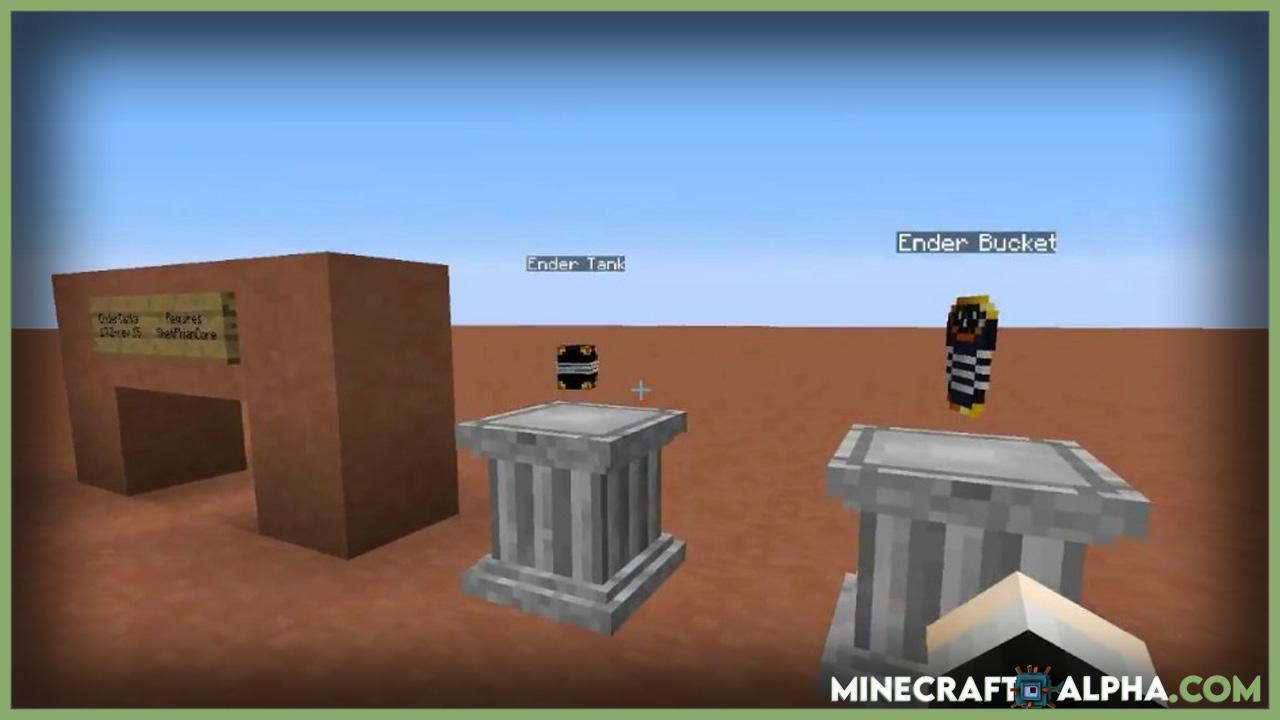 Minecraft Ender Tanks Mod 1.16.5 (Fluid Storage, Transportation)