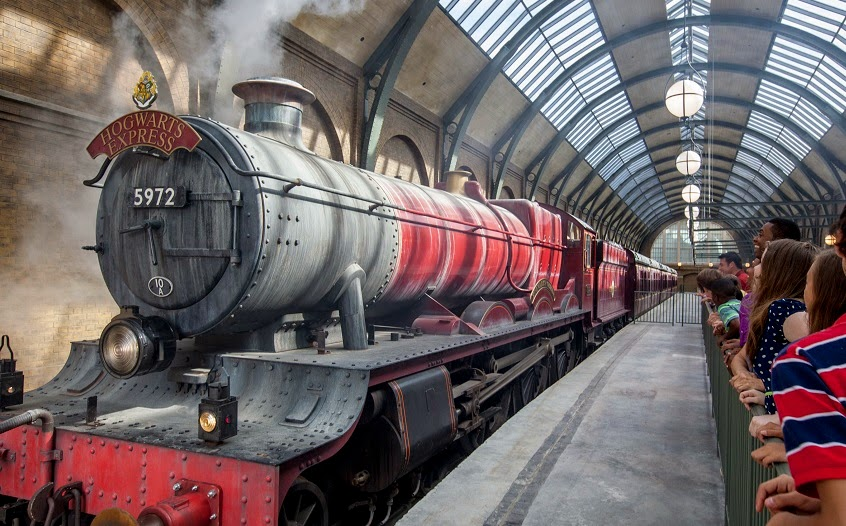 Trem Hogwarts Express na Universal Orlando
