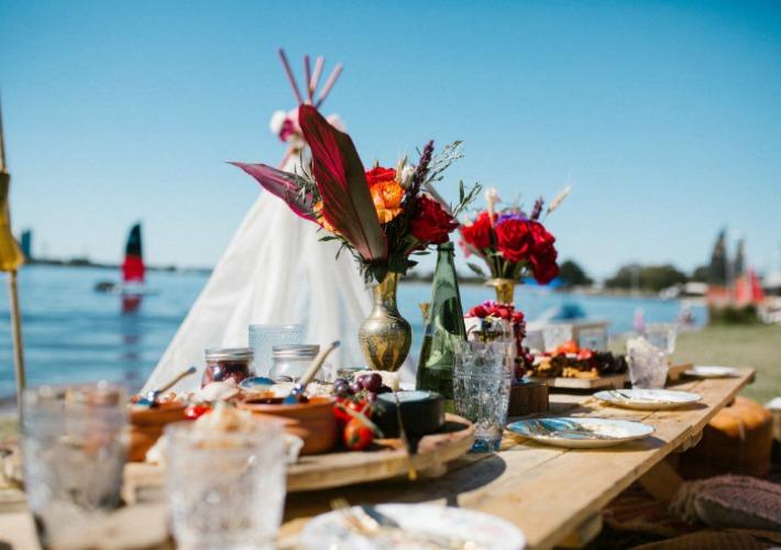 Fiesta Boho junto al mar