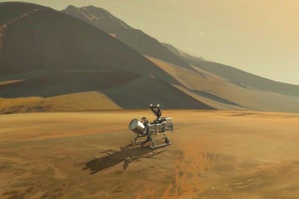 NASA Akan Mencari Tanda Kehidupan di Titan Satelit Planet Saturnus