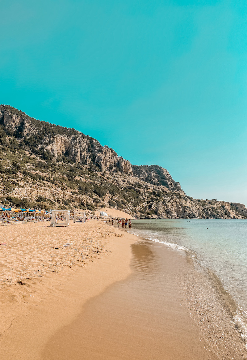 Tsambiko Beach