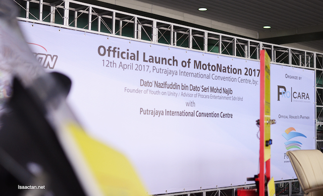 Official Launch Of MotoNation 2017 earlier today