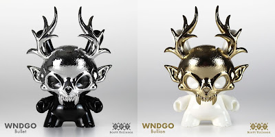 "Wendigo Dunny 5"" Bullet Edition & Bullion Edition Resin Figures by Scott Tolleson"