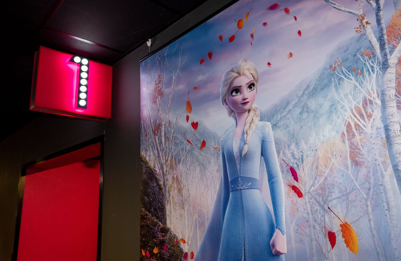 Frozen 2 poster at Empire Cinemas