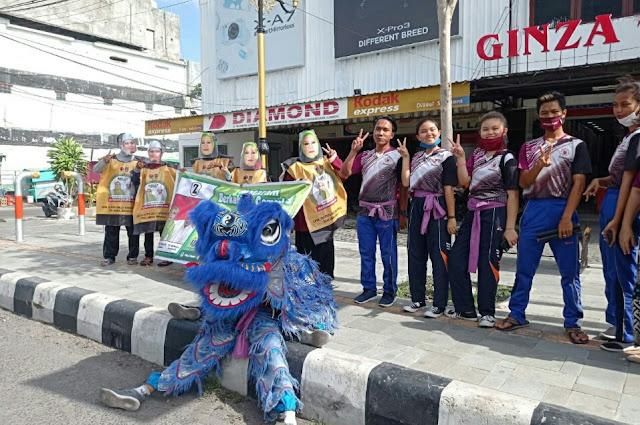 The Barongsai Flashmob Selly Manan, kampanye kreatif untuk Pilkada sehat dan damai