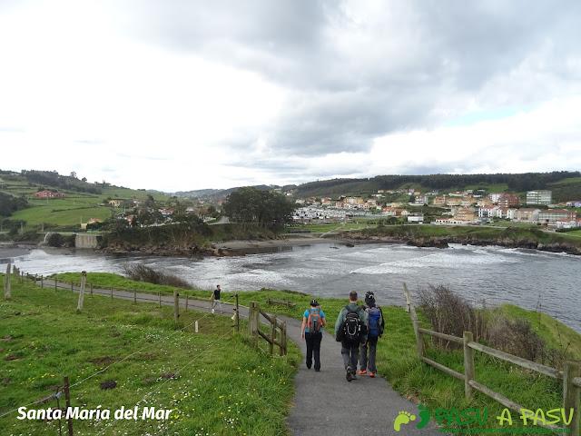 Senda Costa Norte, bajando a Santa María del Mar