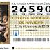 EL GORDO DE NAVIDAD, AUNQUE MUY REPARTIDO, HA CAÍDO EN MURCIA
