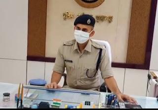 जिले में पुलिस अधीक्षक के आदेश पर अवैध शराब, जुआ, सट्टा पर्ची पर सभी थानों की कार्यवाही