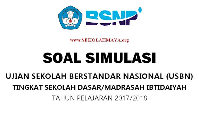 Contoh Soal USBN SD/MI 2018 Sesuai Kisi-kisi Terbaru