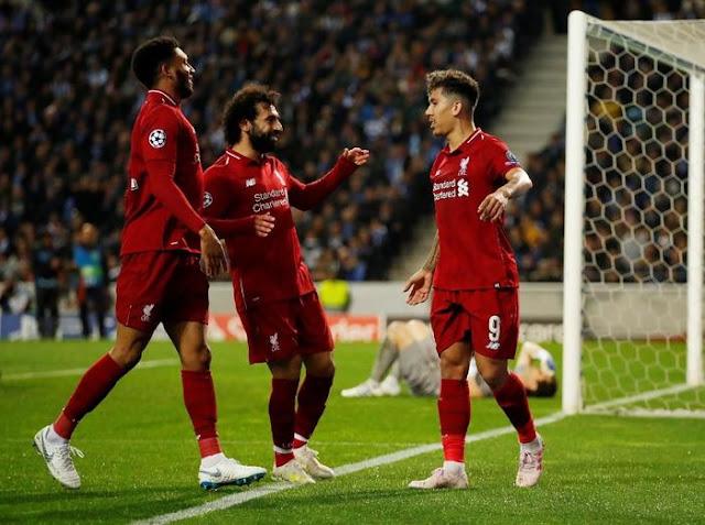 Singkirkan FC Porto, Liverpool Tantang Barcelona di Semifinal