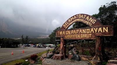 New Normal, Wisata Gunung Papandayan Resmi di Buka